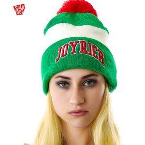 NWT Joyrich Jock Beanie - Green/Red